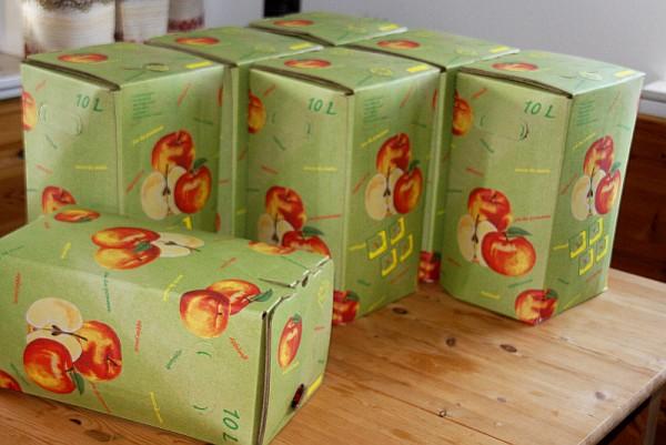 10 Liter Birne+Apfelsaft von unserer Streuobstwiese Bag-in-Box